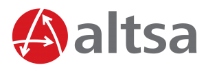 Logo ALTSA Guatemala Promocionales, Marchamos, Laminas, Sistema Toma Turno, Utility
